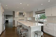 Center Island Kitchen Remodel Bellevue