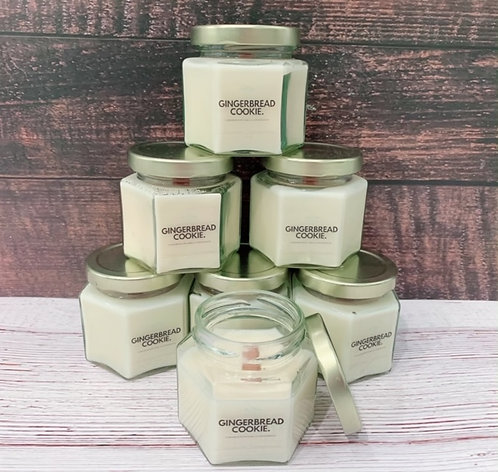 Gingerbread Cookie Soy Wax Candle - Fall Decor - 4oz