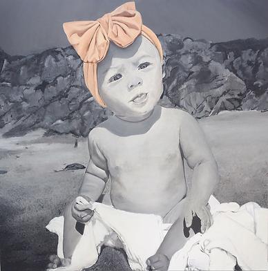 Nursery Wall Art | Portrait Painting | Aria Marli Art | Fashion Art