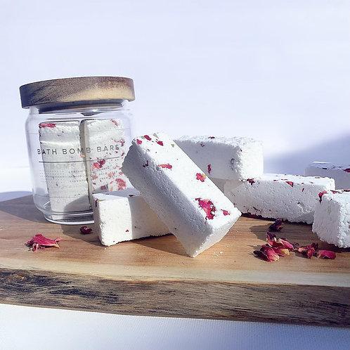 Rose Vanilla Bath Bomb Bars - Bath Gift - Spa Gift - Fizzles