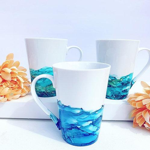 Coffee mug, unique coffee mug, gift for coffee lovers, artisan coffee mug