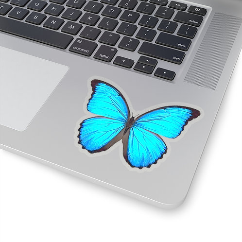 Morpho Butterfly Stickers