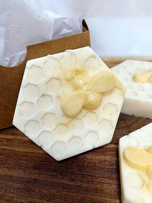 Vanilla Oatmeal Soap | Hand Made Soap | 4 0z bar