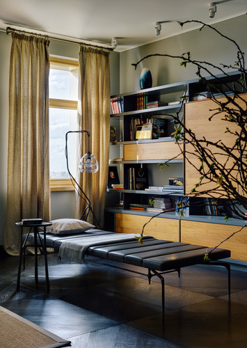 Moscow apartment.