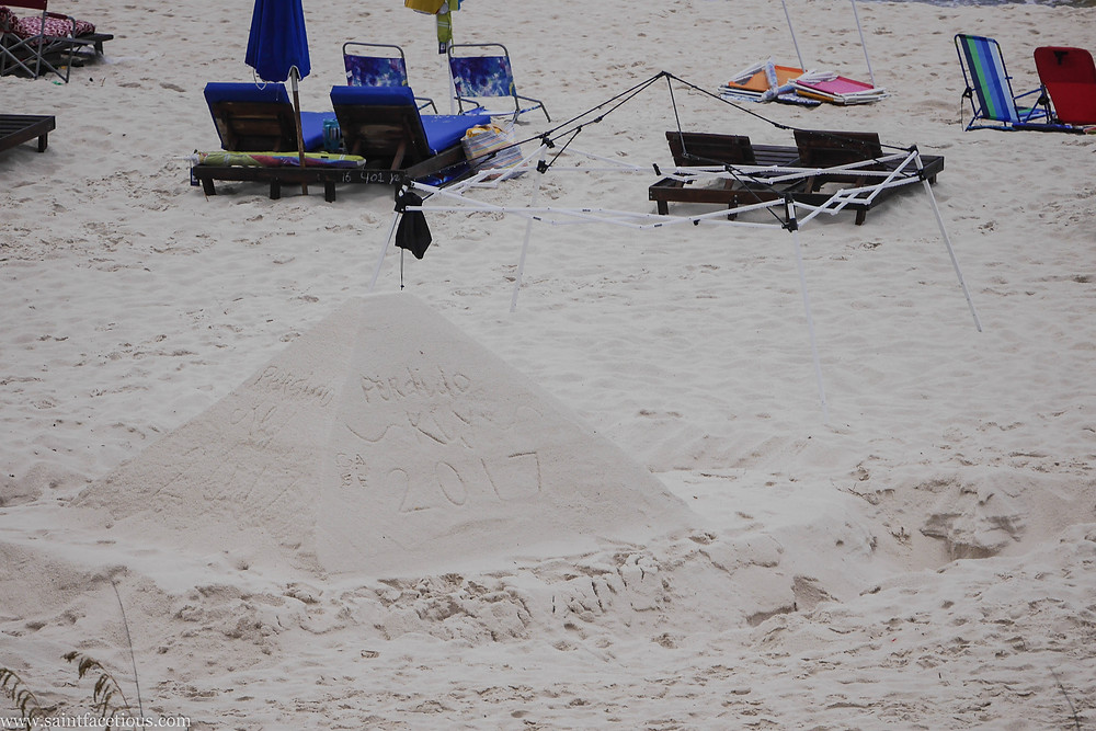 Sand pyramids on the beach. For a beach lover, there are few places better in the world than Florida and South Alabama. Read more about where to go on Perdido Key.