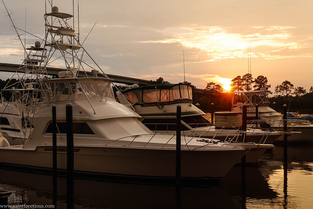Yachts at the Wharf at Orange Beach. For a beach lover, there are few places better in the world than Florida and South Alabama. Read more about where to go on Perdido Key.