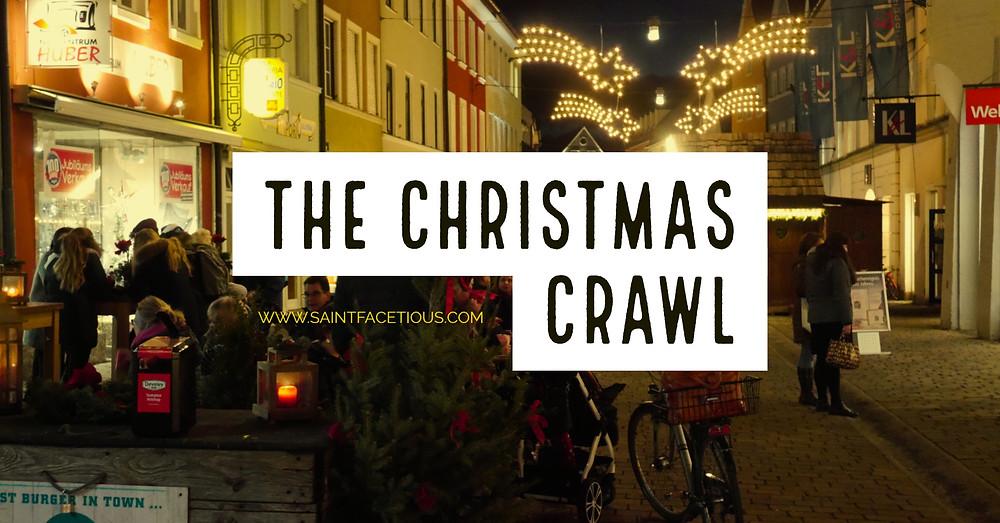 Saint Facetious Christmas Crawl