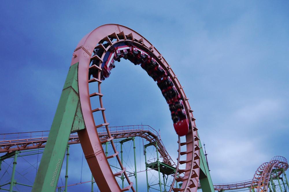 Mtatsminda roller coaster