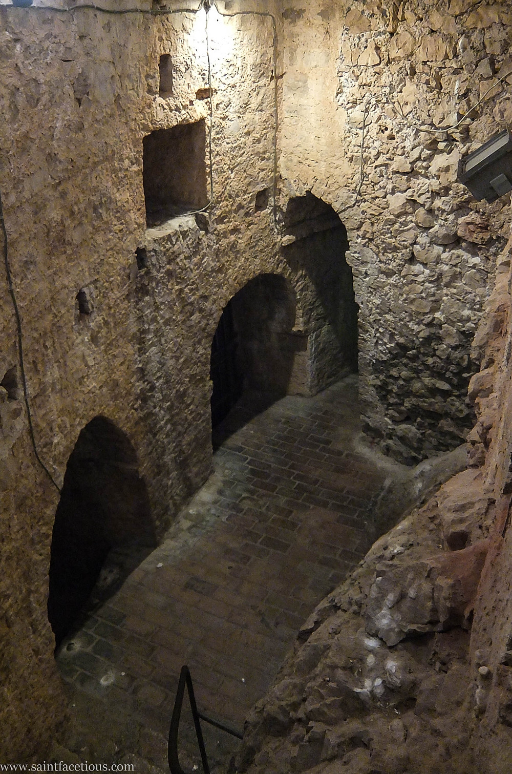 The dungeon. The Dalmatian coast is the most beautiful in the world. Hvar is the place to go for the partying and with a majestic castle view. Read the blog for more.