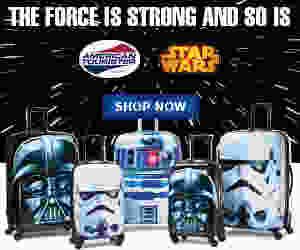 The Force is Strong American Tourister ad