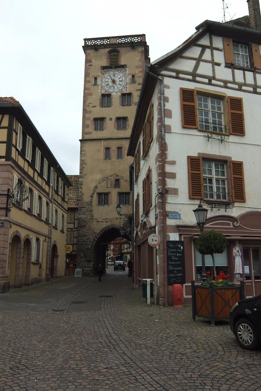Clocktower in Ribeauville