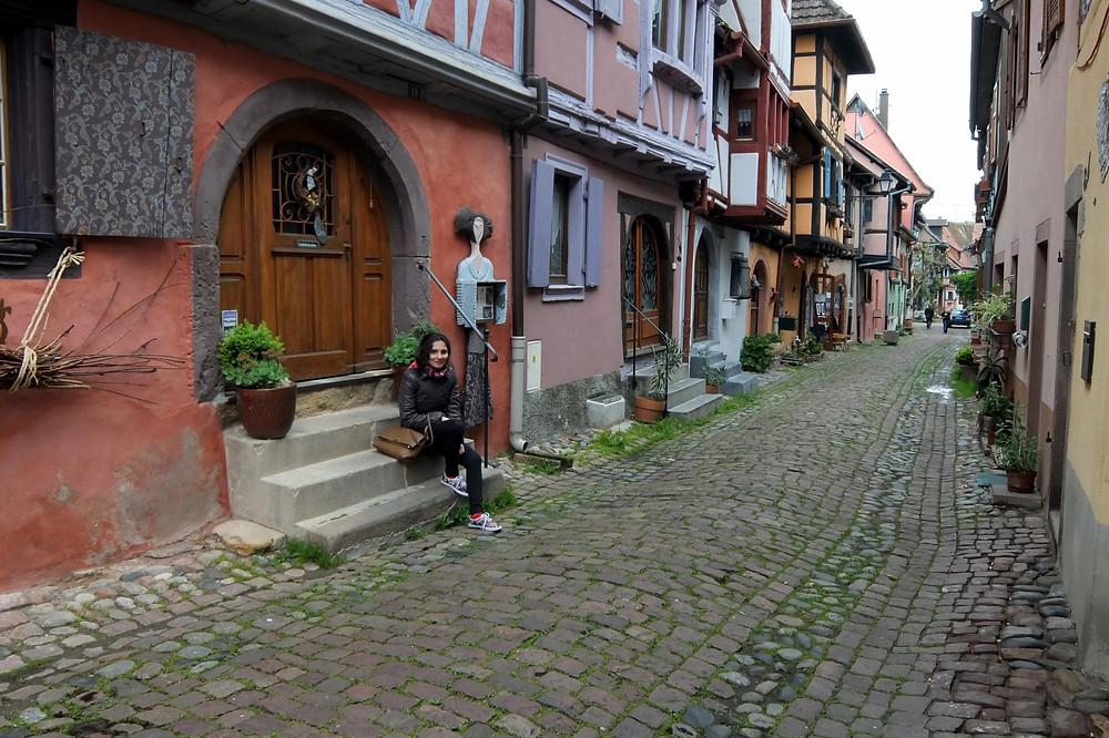 A side street in Eguisheim