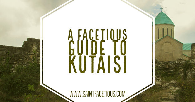 A Facetious Guide to Kutaisi on tiflis russia map, moscow russia map, kars russia map,