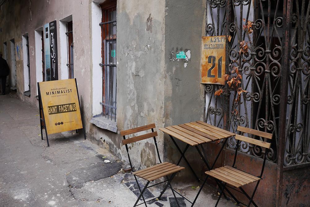coffee shop in tbilisi