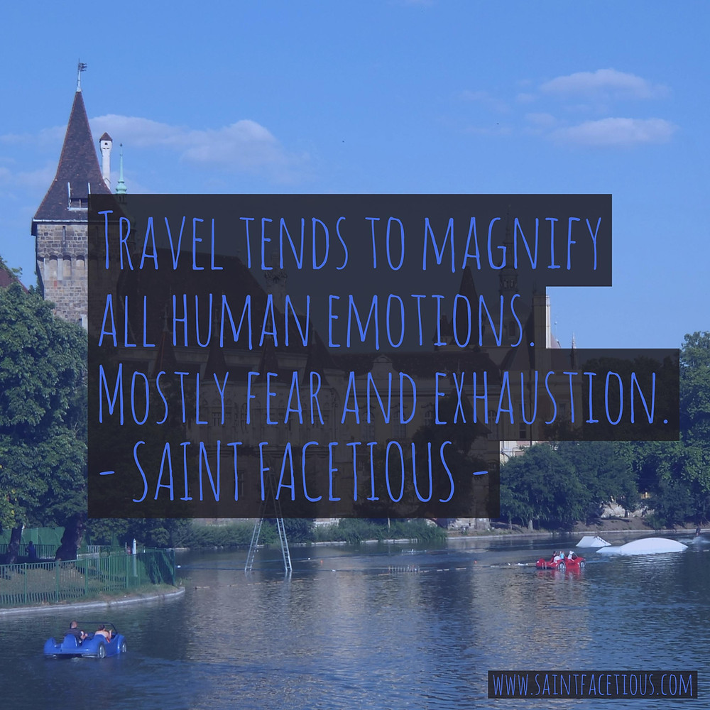 Travel quotes with a picture of Vajdahunyad Castle in Budapest