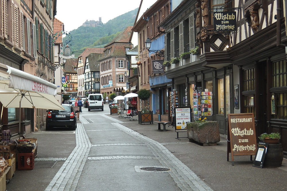 Main street in Ribeauville