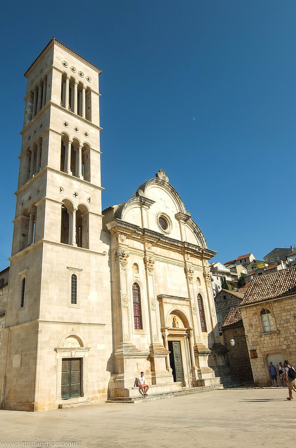 St. Stephen's. The Dalmatian coast is the most beautiful in the world. Hvar is the place to go for the partying and with a majestic castle view. Read the blog for more.