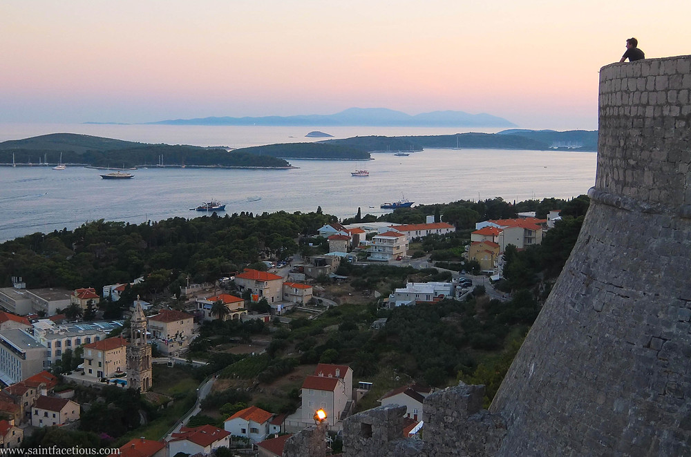 The Dalmatian coast is the most beautiful in the world. Hvar is the place to go for the partying and with a majestic castle view. Read the blog for more.