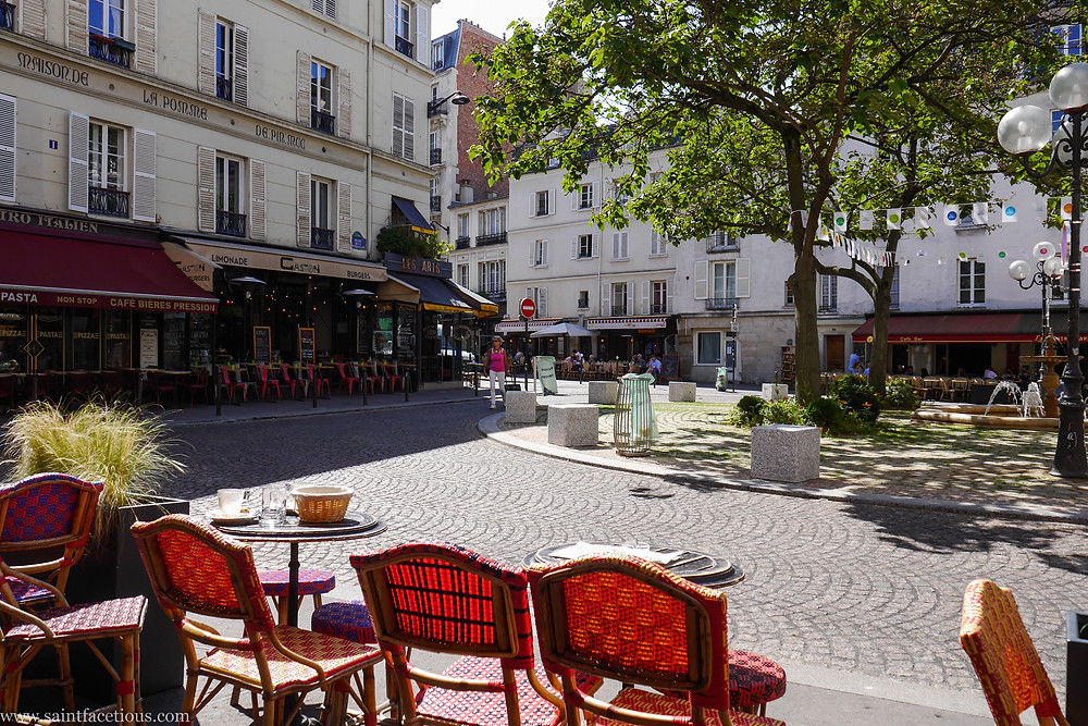 Place de contrescape Paris