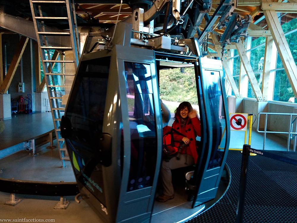 Pec pod Snezkou cable car