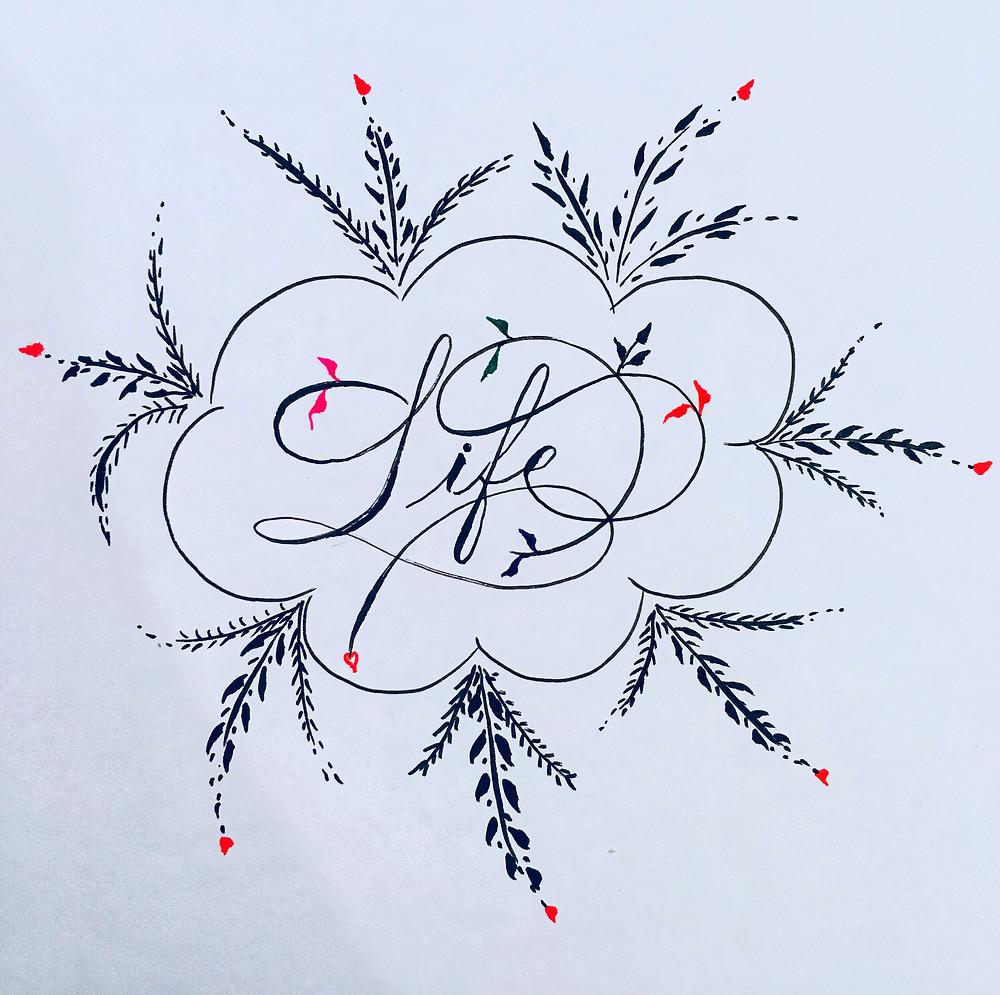 Fahad Aliyu calligraphy