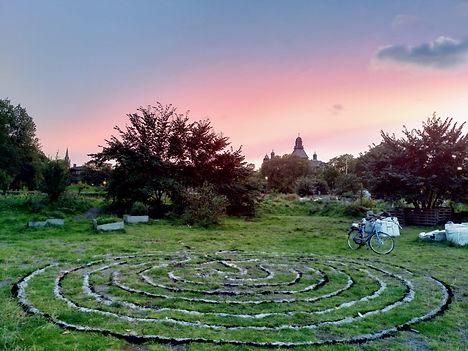 labyrinth sunset.jpg
