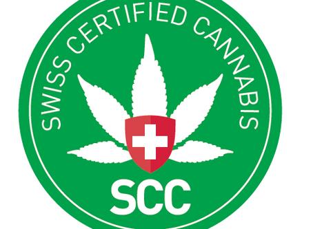 """Qualitäts- Label der IG Hanf """"Swiss Certified Cannabis"""""""