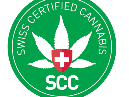 "Qualitäts- Label der IG Hanf ""Swiss Certified Cannabis"""