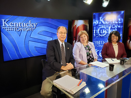 KY Tonight -Representatives Joe Graviss and Joni Jenkins discussing HB1 and HB2 during the 2019 Spec