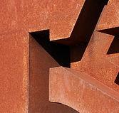 Structure en métal rustique