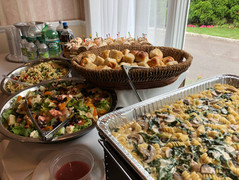 Hot Buffet and salad catering by Felico's