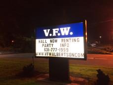 VFW Sign