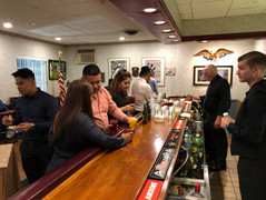 bar room at the VFW in Albertson