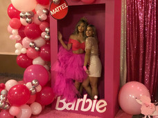 Photo booth with Barbie
