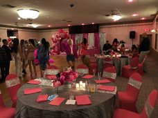 Sweet 16 party at VFW in Albertson