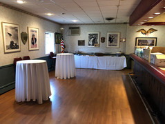 catered event at the VFW Hall in Albertson