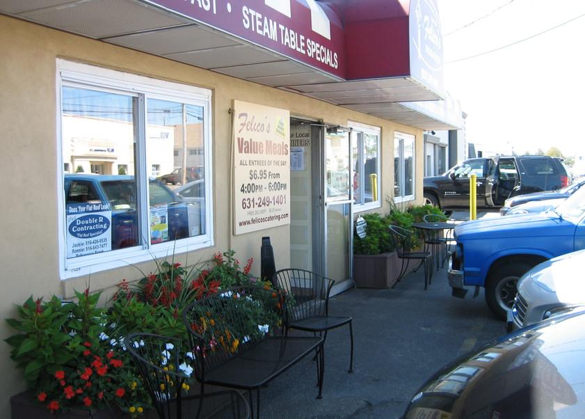 Felico's restaurant exterior