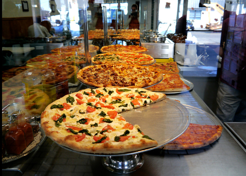 Pizza selections