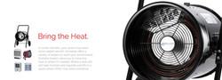 Heater jumbotron