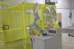 R&D Test cage side view