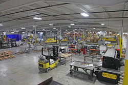 Facility overhead view of Press Area