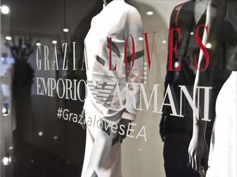 GRAZIA LOVES EMPORIO ARMANI