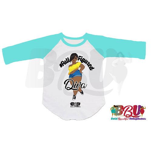 Full-Figured Diva Softball Shirt