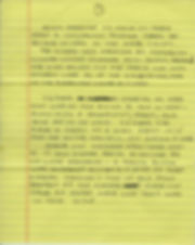 A personal letter from Carl Doumani about the history of Machine with 23 Scraps of Paper- page 1