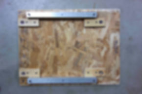 The crate baseplate for Machine with 23 Scraps of Paper by Arthur Ganson