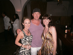 With Danny Rampling after he played my track in his set - Ibiza 2011