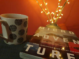 Early evening read and hot choc - Carrie
