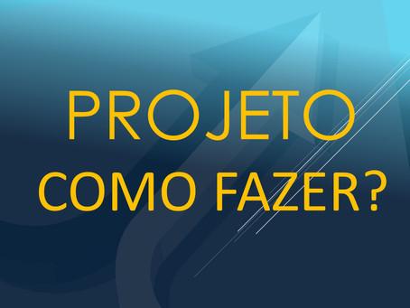 Projeto COMO FAZER? Um apredizado online onde os temas serão abordados ao vivo.