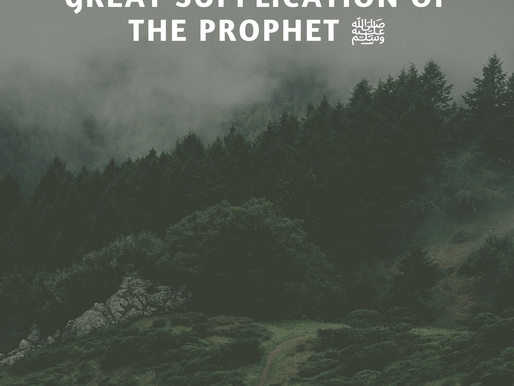 Free Ebook - A great Dua of the Prophet  صلى الله عليه سلم with Audio for learning
