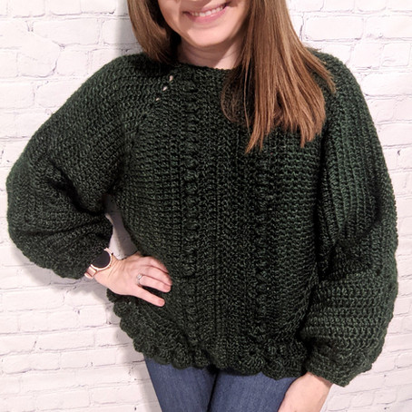 Granny Square Sweater by isWoolish